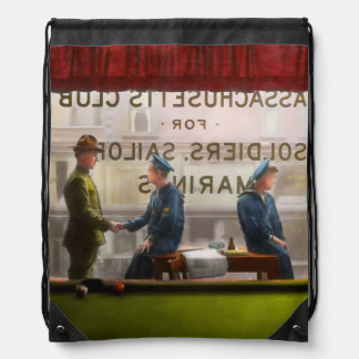 Sailor - Welcome sailor 1908 Drawstring Backpack