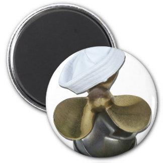 SailorHatPropeller081212.png 2 Inch Round Magnet