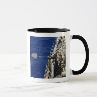 Sailors aboard USS Fort McHenry Mug