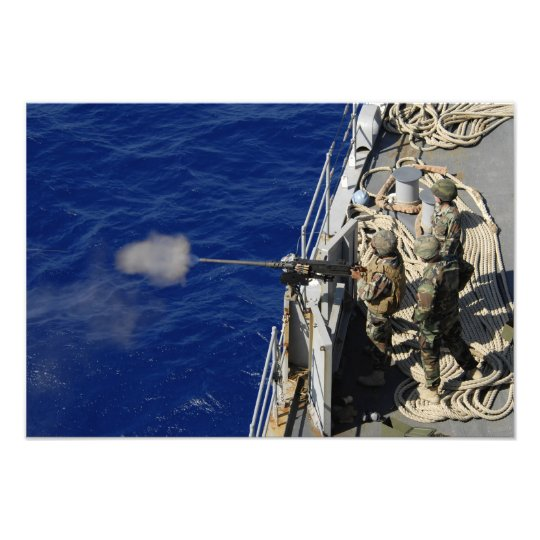 Sailors aboard USS Fort McHenry Photo Print
