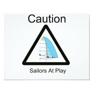 Sailors At Play Card