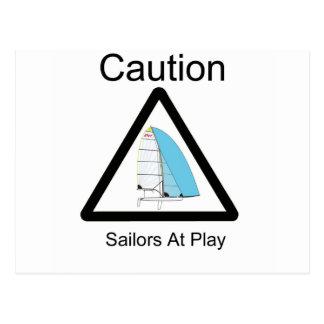 Sailors At Play Postcard
