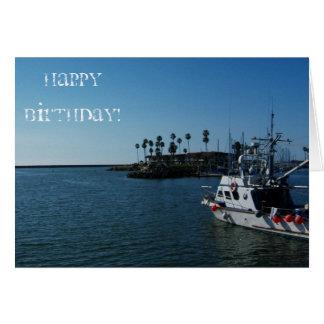 Sailor's Birthday Wish Greeting Card