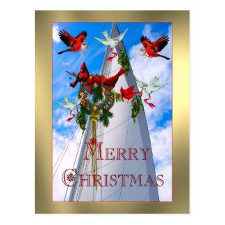 Sailor's Christmas Postcard