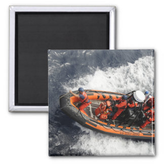 Sailors conducting small boat training magnet