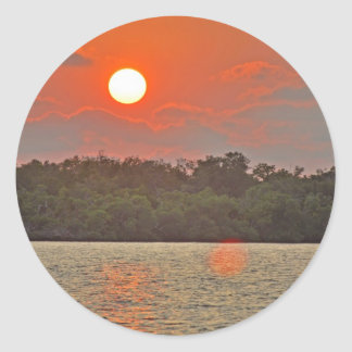 """""""Sailor's Delight """" collection Classic Round Sticker"""