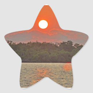 """""""Sailor's Delight """" collection Star Sticker"""
