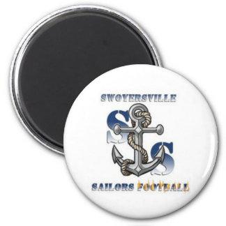 Sailors Fan Gear 2 Inch Round Magnet