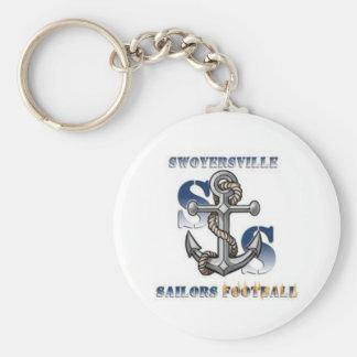 Sailors Fan Gear Basic Round Button Keychain
