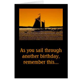 Sailors Get a Little Dinghy! Card