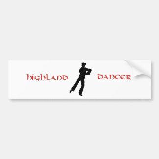 Sailors Hornpipe Dancer Bumper Stickers