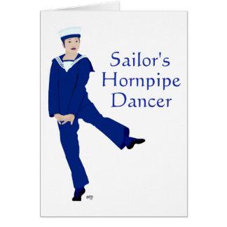 Sailors Hornpipe Dancer Card