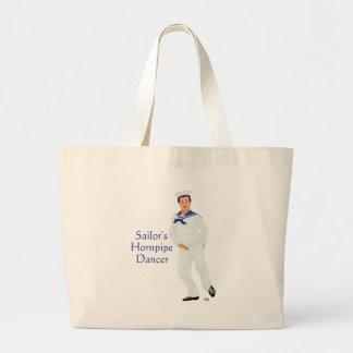 Sailors Hornpipe Highland Dancer Tote Bag