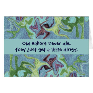 sailors humor card