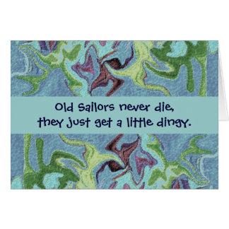 sailors humor greeting card