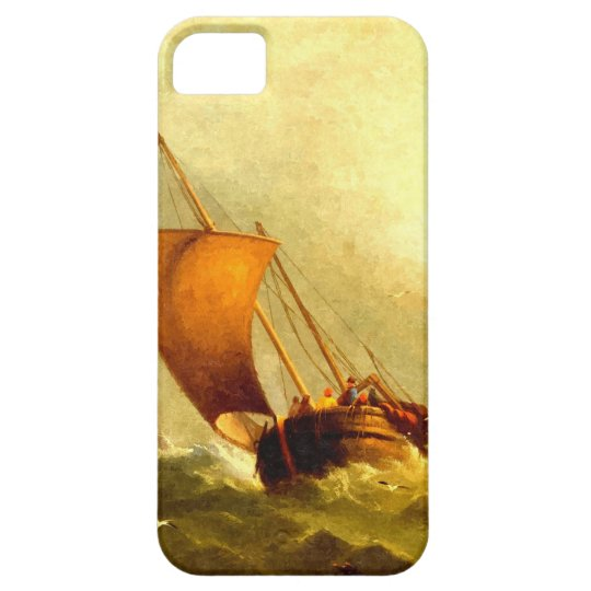Sailors in a storm iPhone SE/5/5s case
