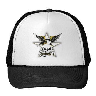 Sailor's Lament Skull Tattoo Graphic Trucker Hat