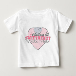 Sailors lil Sweetheart Baby T-Shirt