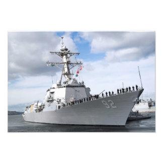 Sailors man the rails photo