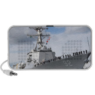 Sailors man the rails iPod speaker