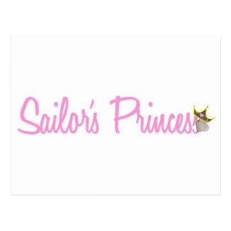 Sailor's Princess Postcard