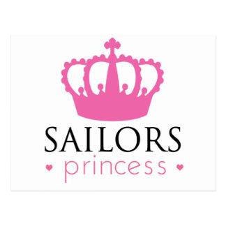 Sailors Princess Postcard