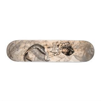 Sailors Ruin old school tattooed Mermaid deck Skateboards