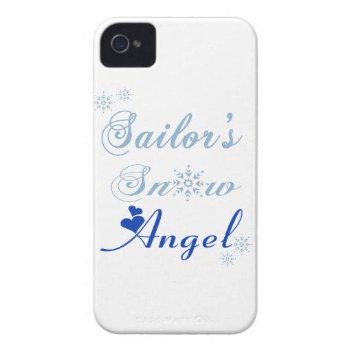 Sailor's Snow Angel Blackberry Bold Case