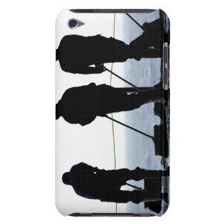 Sailors sweep out the hangar bay iPod touch cover