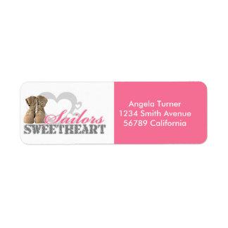 Sailors Sweetheart Custom Return Address Label