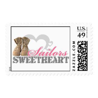 Sailors Sweetheart Postage Stamp