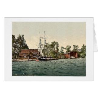 Sailor's training station, Potsdam, Berlin, German Cards