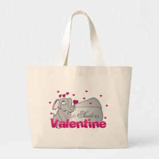 Sailors Valentine Jumbo Tote Bag