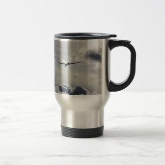Sailplane Launching Stainless Steel Travel Mug
