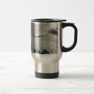 Sailplane Launching Travel Mug
