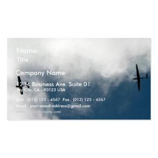 Sailplane Towing Business Card Templates