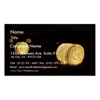 Sailplane Towing Business Card Template