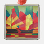 Sails and Ocean Skies Christmas Ornament