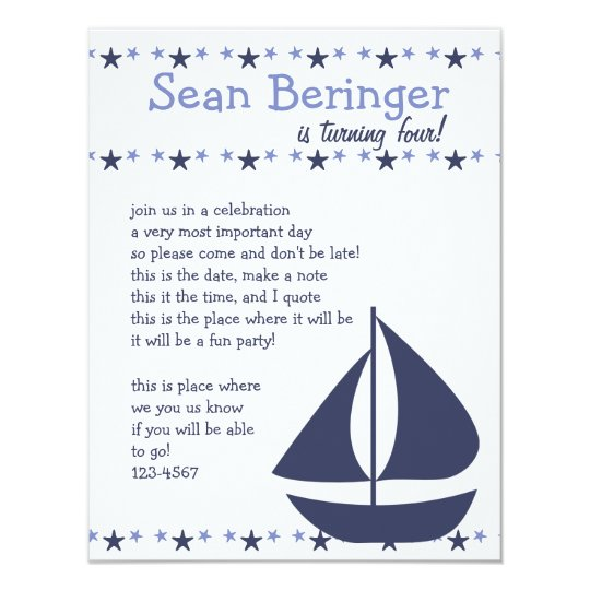 Sails and Stars Card