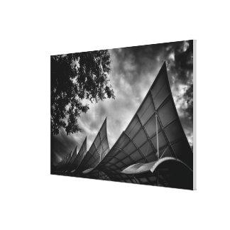 Sails as Architectural Structures Canvas Print