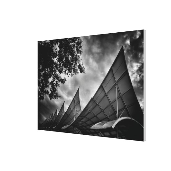 Sails as Architectural Structures Canvas Print