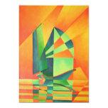 "Sails at Sunrise 5"" X 7"" Invitation Card"