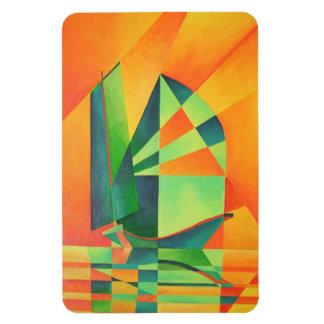 Sails at Sunrise Magnets