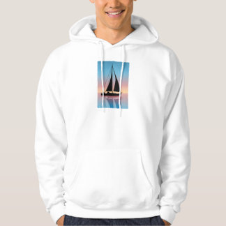 Sails at Sunset Silhouette Hoodie