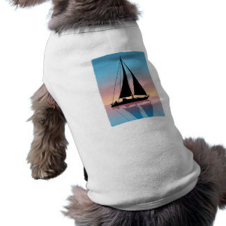 Sails at Sunset Silhouette Shirt