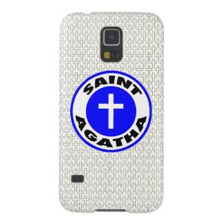 Saint Agatha Case For Galaxy S5