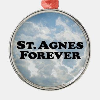 Saint Agnes Forever - Basic Metal Ornament