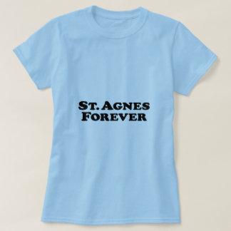 Saint Agnes Forever - Basic T-Shirt