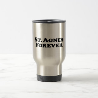 Saint Agnes Forever - Basic Travel Mug