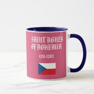 Saint Agnes of Bohemia Custom Mug